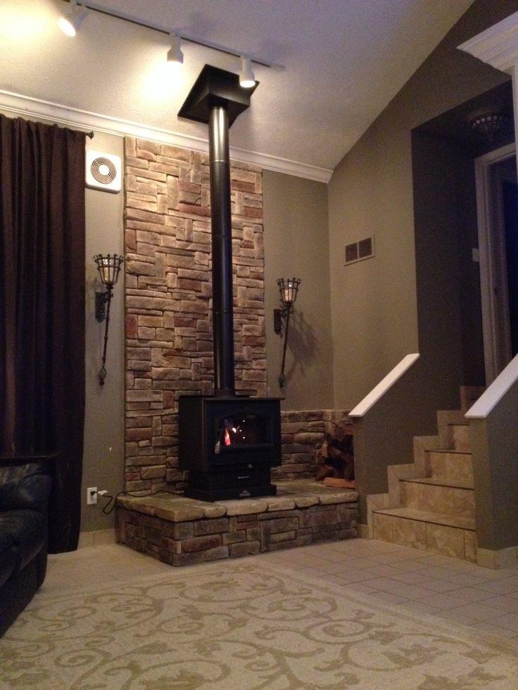 Free Standing Wood Burning Stove House Pinterest