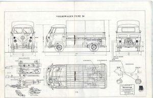 1965 VW Type 26   Plans (Trucks)   Pinterest   Buses