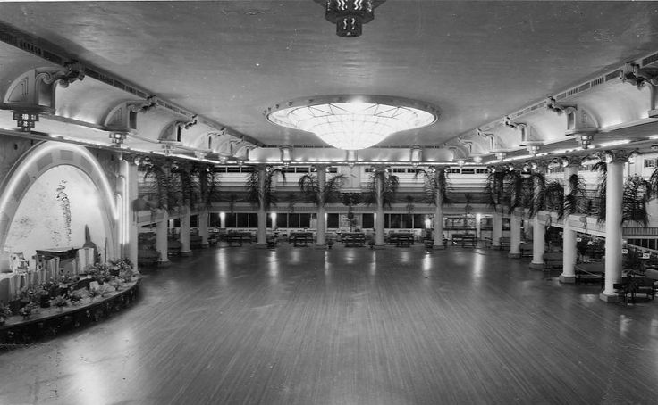 Cloudland Ballroom Bowen Hills Brisbane C 1940 Danced
