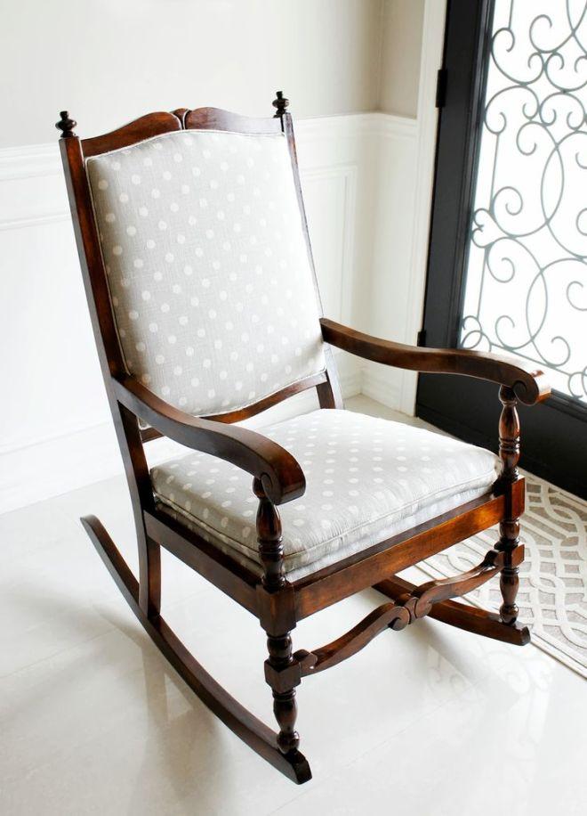 Am dolce vita rocking chair makeover diy pinterest
