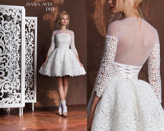 764 Best Images About Short Wedding Dresses On Pinterest