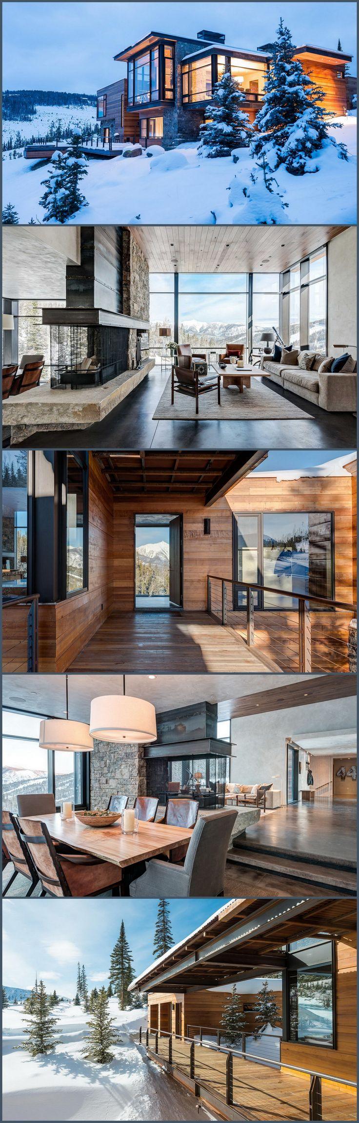 Modern Montana Mountain Hom