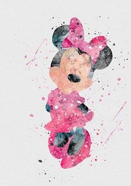 1000 Images About Disney Art Watercolor On Pinterest