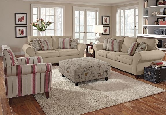 The Palmer Collection Is A Beautiful Neutral Living Room