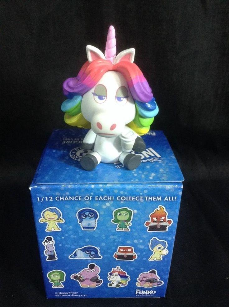 Inside Out Rainbow Unicorn Disney Pixar Funko Mystery