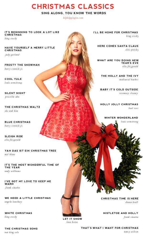 Christmas Playlist Holiday - classics …Sing along, YOU ...