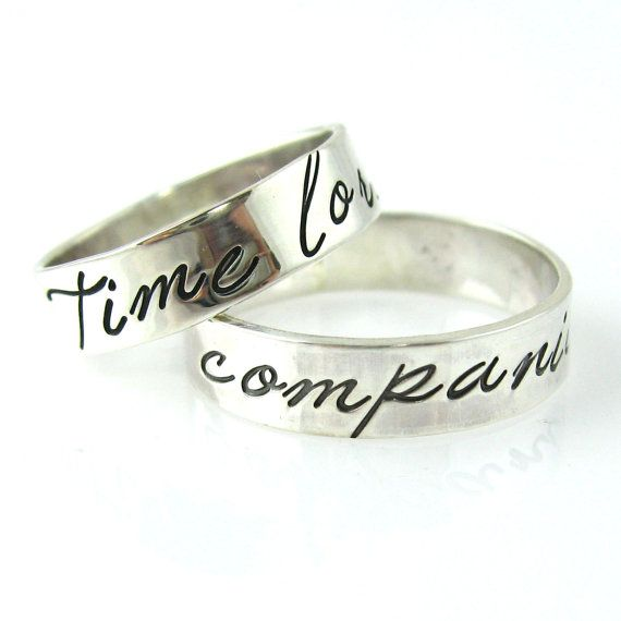 These Will Be Our Wedding Rings O Doctor Who Wedding