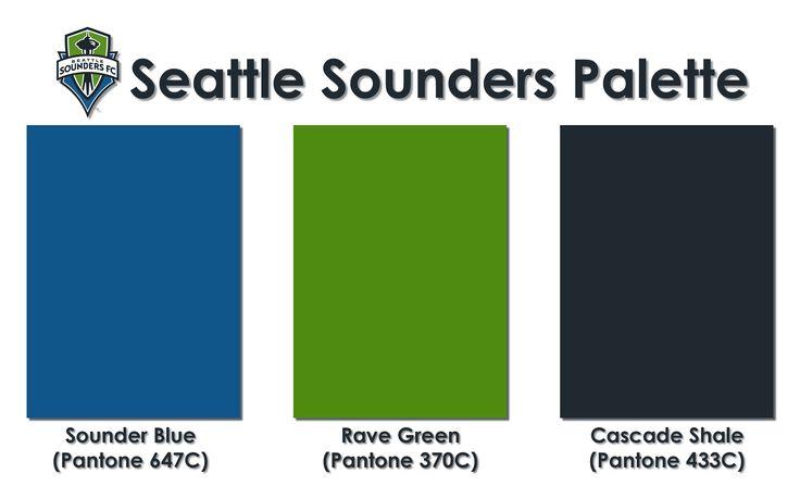 Seattle Sounders Color Palette Scrapbooking Pinterest
