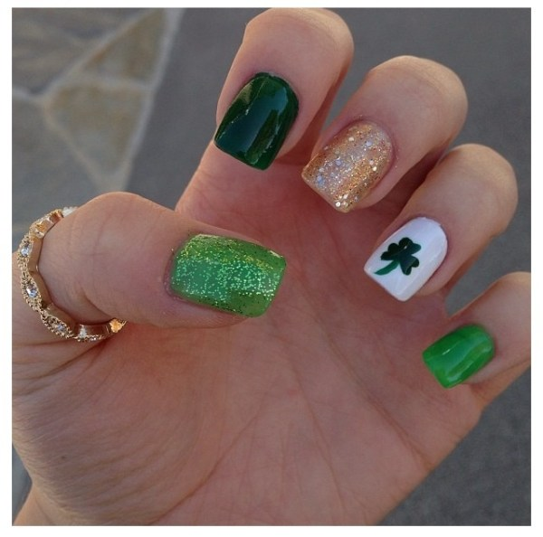 17 Best images about St Patrick's day nails on Pinterest ...