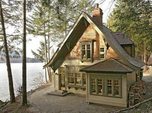 cottage by the lake in fulford harbour british columbia on lake cottage colors id=90018