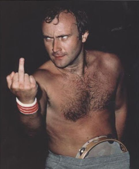 Image result for free to use cartoon of phil collins