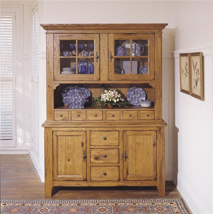 Attic Heirlooms Dining China Cabinet By Broyhill Furniture