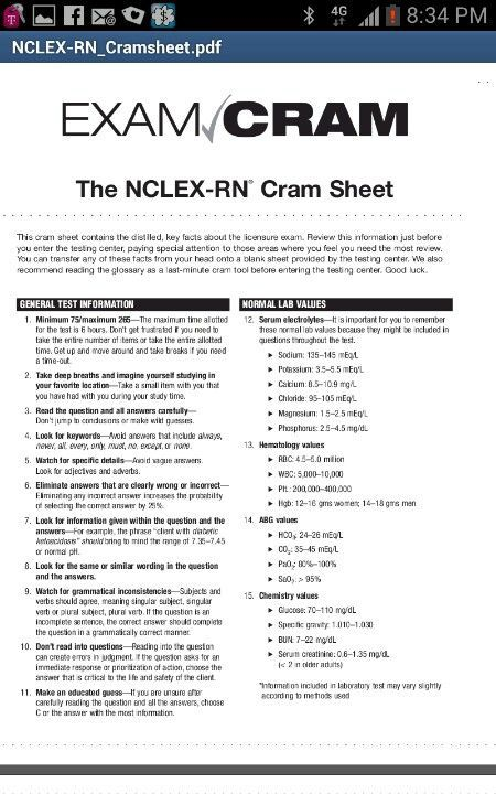 Pass the NCLEX the first time.... maybe this will help ...