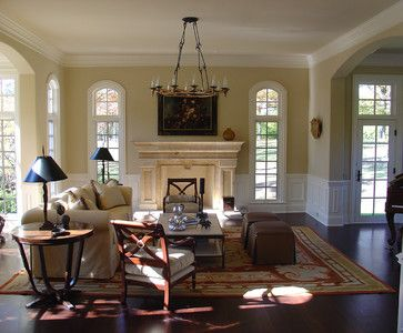 Traditional Colors And Traditional Living Rooms On Pinterest
