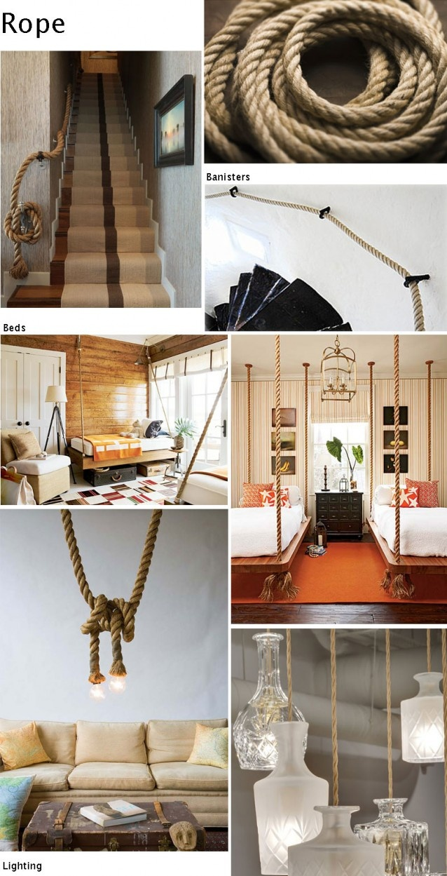 20 Best Rope Stair Rail Images On Pinterest