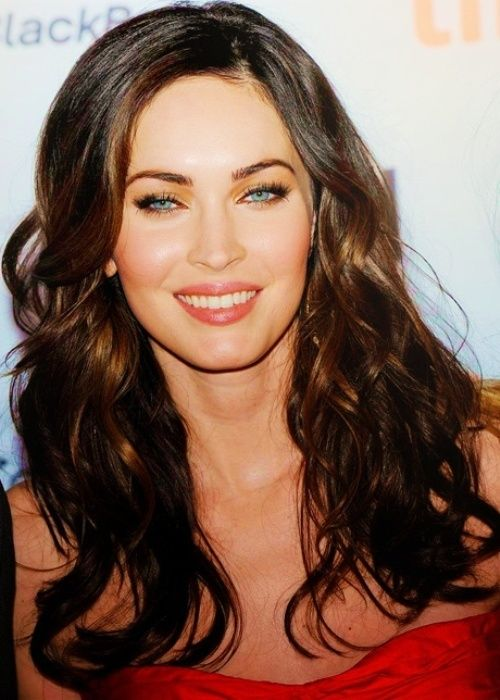 Top 50 Hairstyles For Oval Faces Herinterest Com Megan Fox Hairstyle Long