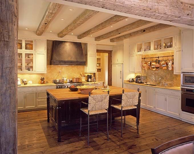Rustic Chic Rustic Chic Kitchen Shabby Chic With A