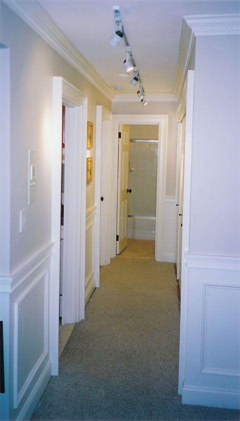 Crown Molding Hallway Decorate Pinterest Crown