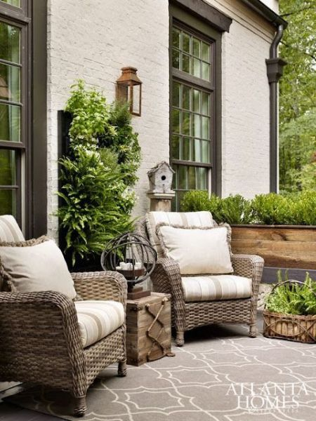 french country outdoor patio furniture 25+ great ideas about Wicker patio furniture on Pinterest
