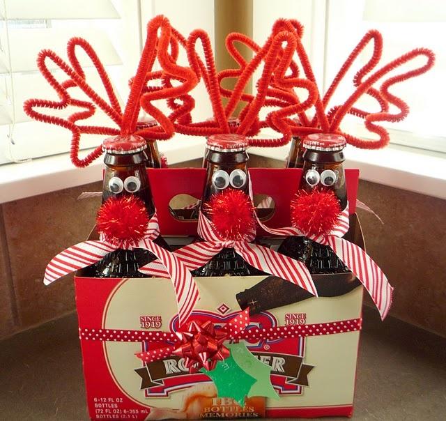 Reindeer Rootbeer…or Beer….with pipe cleaners :)