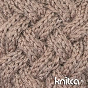 Here's a gorgeous cable stitch that is fully reversible. It looks great on both sides. This makes it perfect choice for all kinds