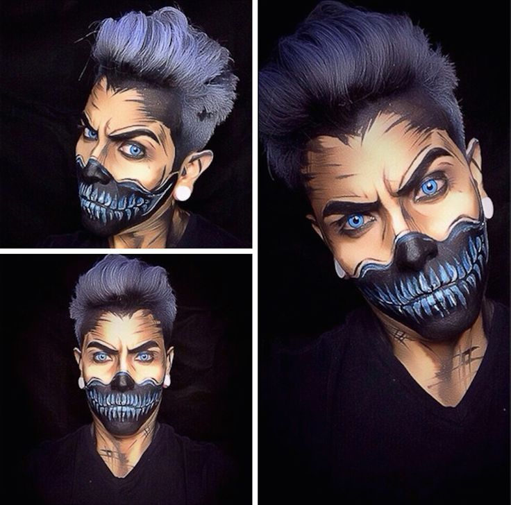 halloween makeup looks for guys newchristmas co