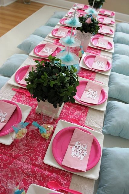 1000 Images About Paper Plate Table Settings On Pinterest