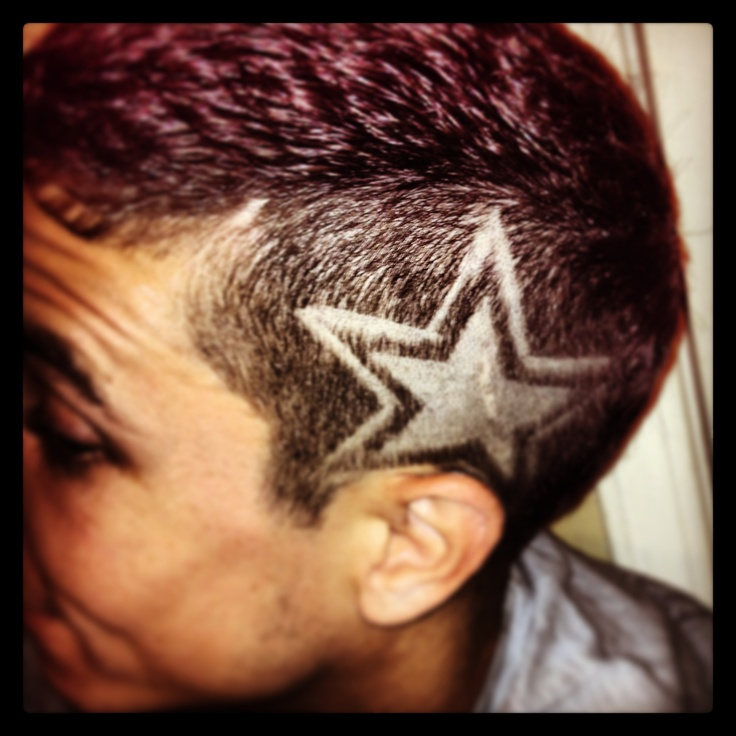 The Gallery For Gt Star Hair Designs For Boys
