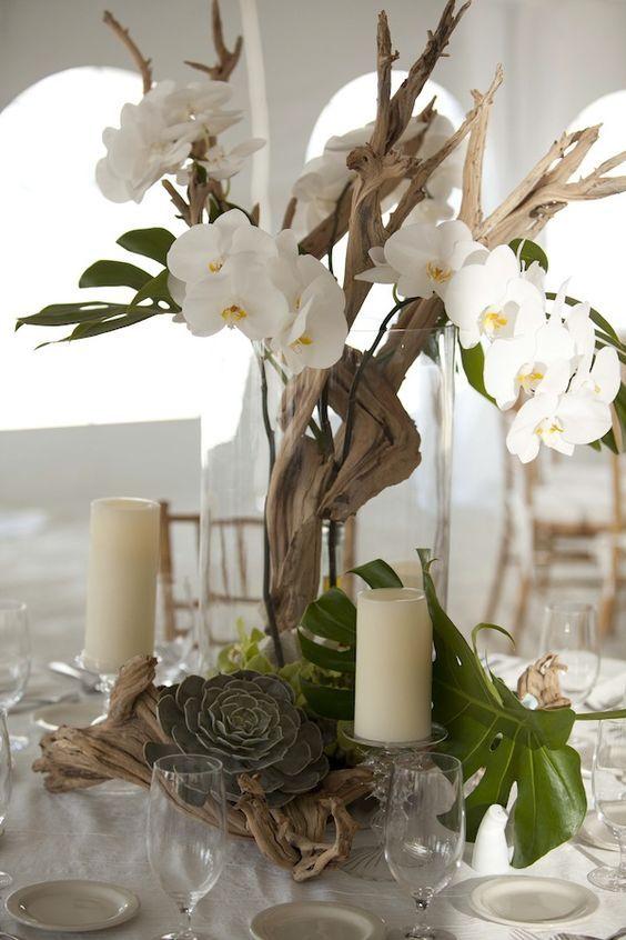 25 Best Ideas About Driftwood Wedding Centerpieces On