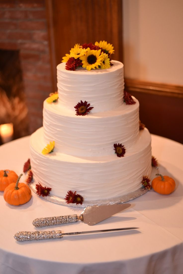 Top 25 Ideas About Sunflower Wedding Cakes On Pinterest