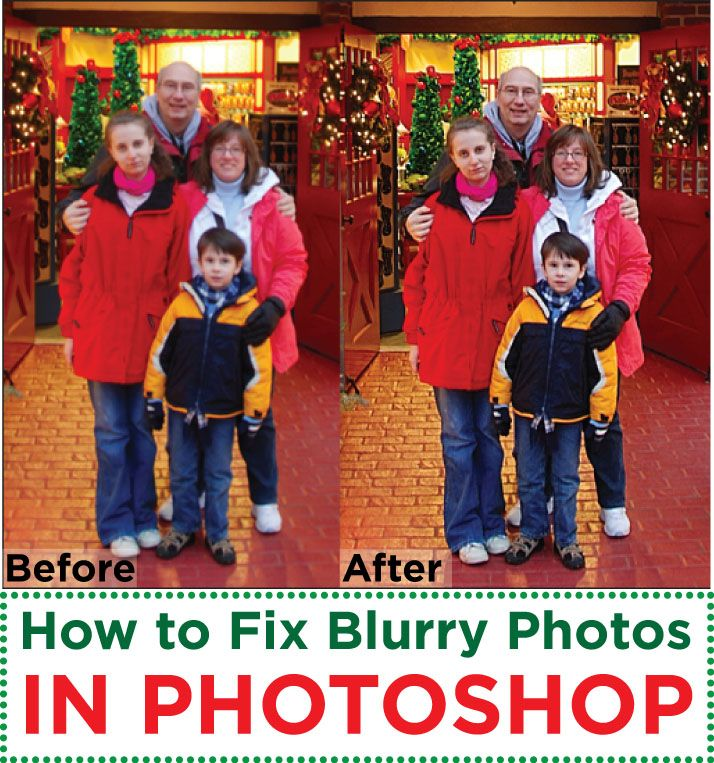 Quick tip on how to fix blurry pictures in Photoshop. Photos may appear sharp on the camera screen, but later you see its blurry.