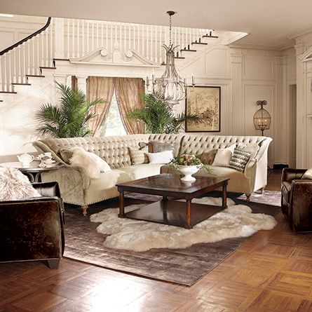 Fiona Sectional Arhaus Furniture Two Rugs Maybe