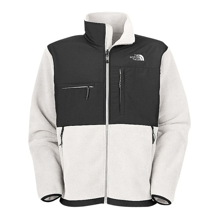 #WarmJackets The key to style! The The North Face Denali White Jacket is best hu