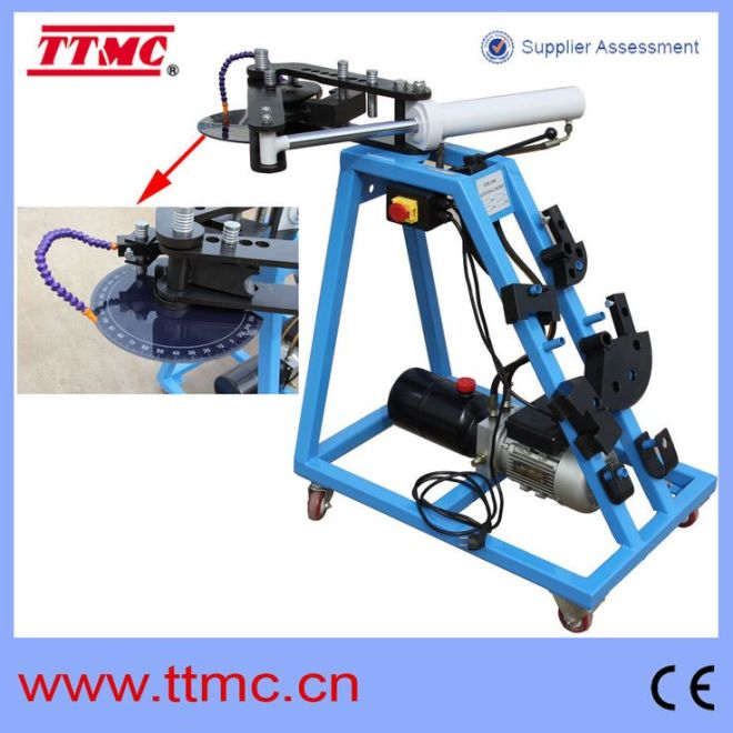 Htb1000 elc hydraulic pipe bender buy electric