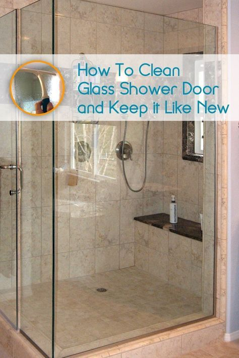 1000 Ideas About Cleaning Shower Glass On Pinterest