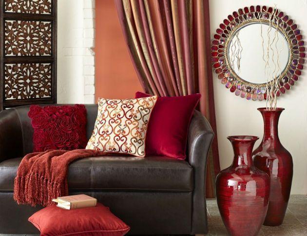 Living Room Decorating Ideas Orange