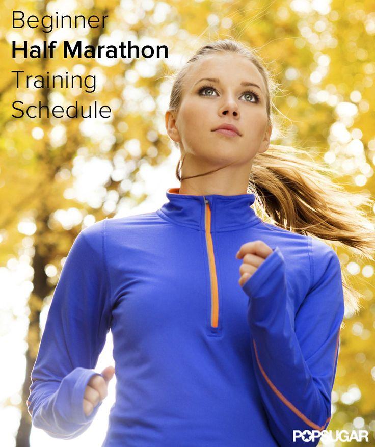 16-Week Beginner Half Marathon Training Schedule…I kinda wanna try something l