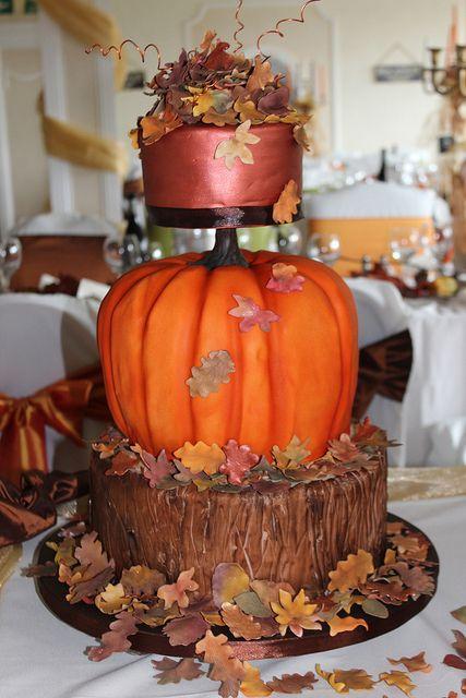 25 Best Ideas About Pumpkin Wedding Cakes On Pinterest