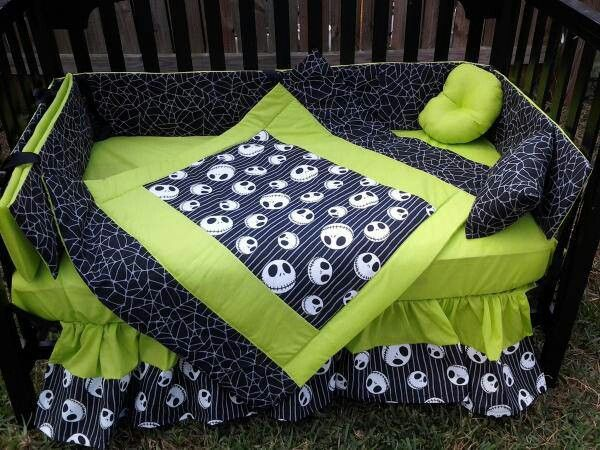 Jack Skellington Cribday Bed Sheets For My Army Of