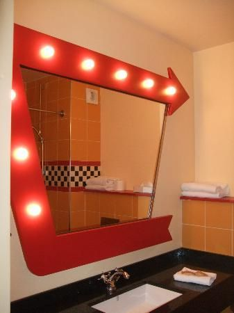 Car Themed Bathrooms Disneys Hotel Santa Fe New Cars