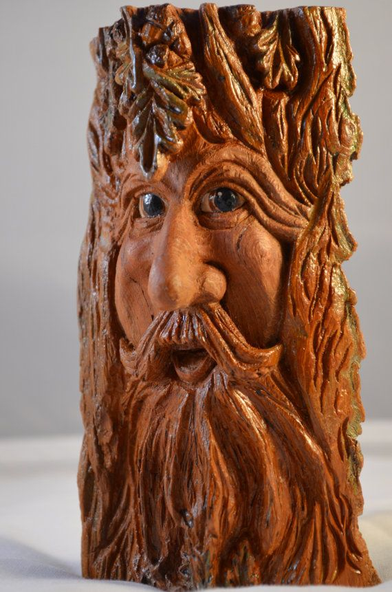 Unique Wood Carving Spirit One Of A Kind By