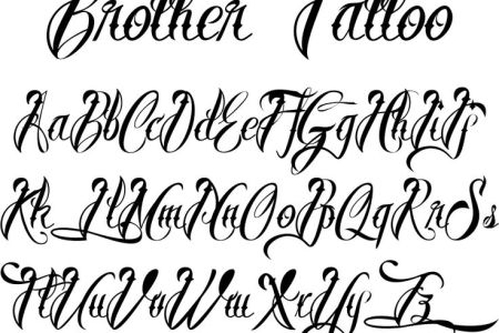 A993d8ef2af4bfd075f802772b59893b Tattoo Lettering Alphabet Styles Different Types