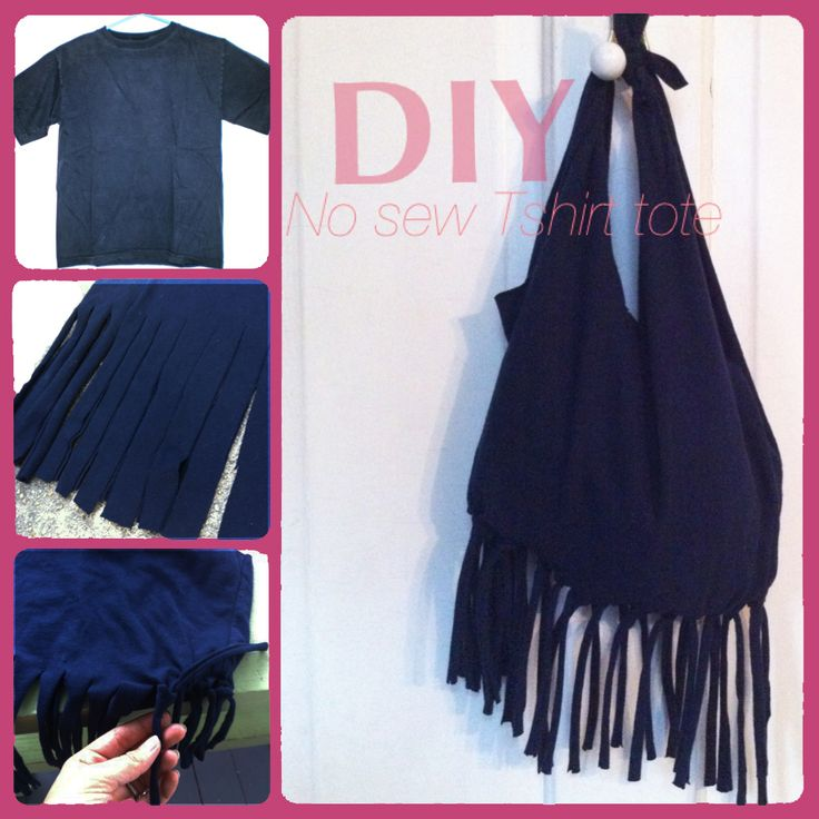 diy no sew fringe purse fro