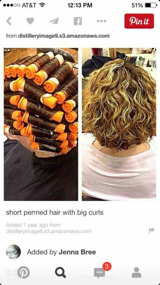 Loose Curl Perm The Very Hairs On Your Head Are