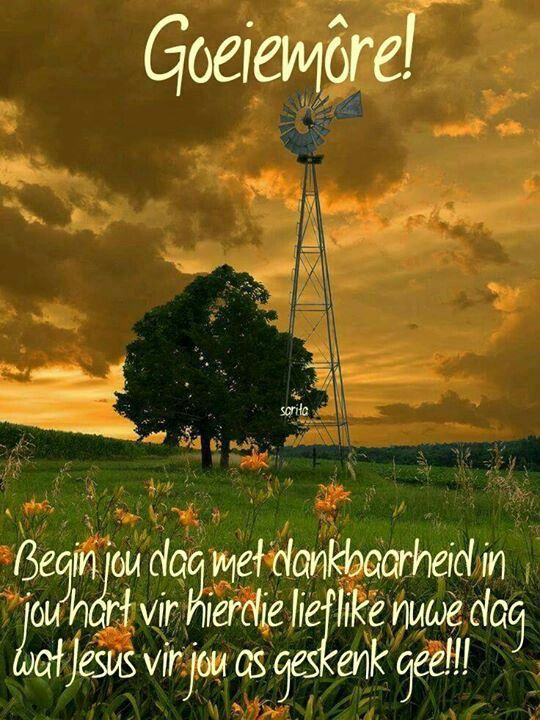 Goeie More Afrikaans Pinterest
