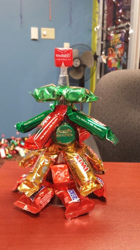 My Christmas Trees I Made For My Employees Use Plastic