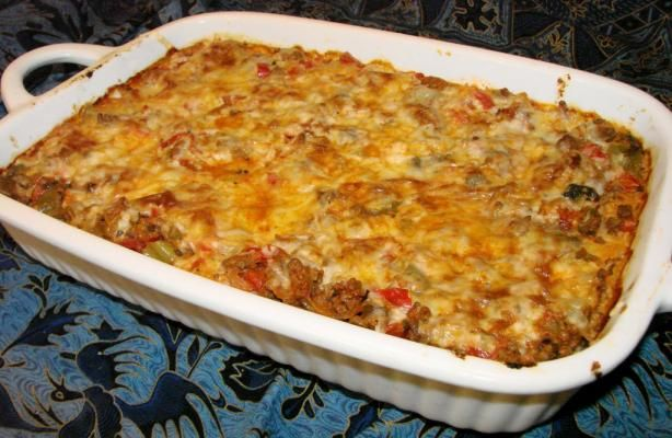 Inside out Stuffed Pepper Casserole. Made this for dinner tonight and it was delicious and so much bet