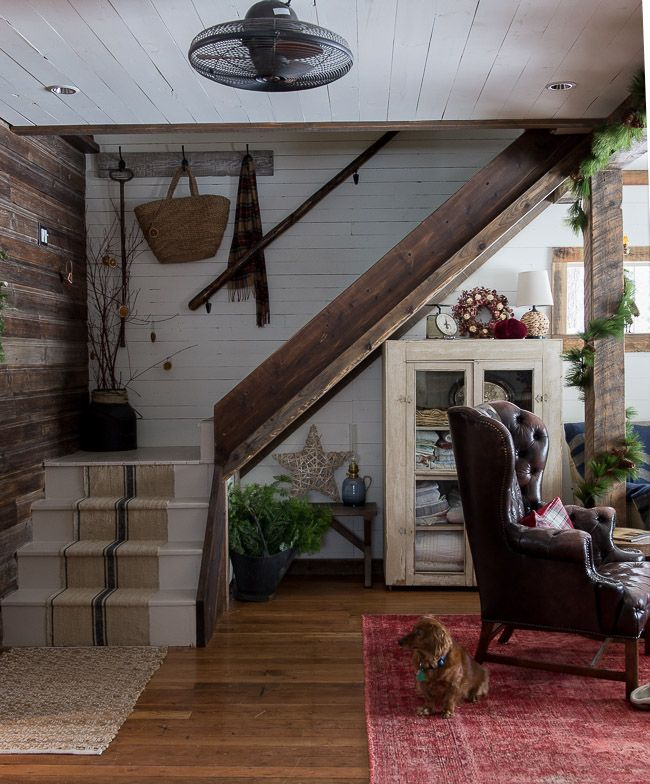 Vintage Whites Blog A Rustic Farmhouse Christmas Home