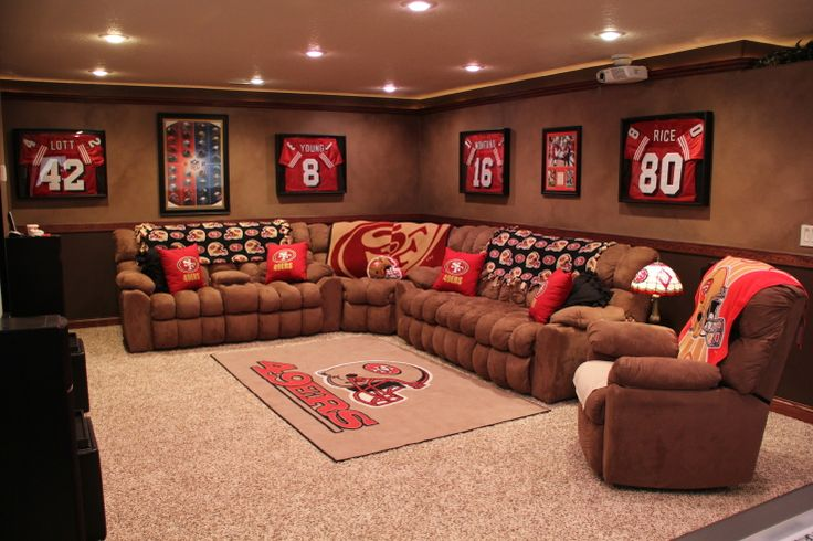 49er Room Decor San Francisco 49ers Fashion Style Fan Gear Pinterest Dream Man Caves