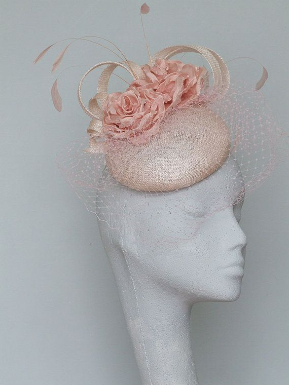 17 Best Ideas About Pale Pink Fascinator On Pinterest